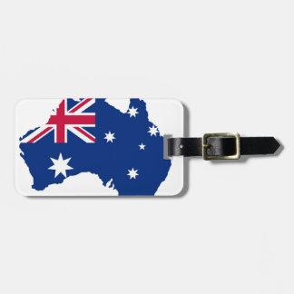 Australia flag Australia styles Design Luggage Tag