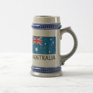 Australia Flag Beer Stein
