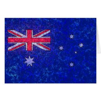 AUSTRALIA FLAG Card
