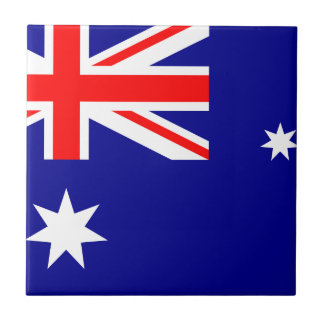 Australia Flag Ceramic Tile