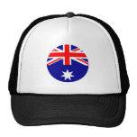 Australia Flag - Circle The MUSEUM Zazzle Hat