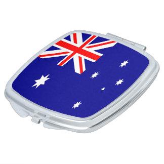 Australia Flag Compact Mirror