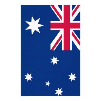 Australia Flag Custom Stationery