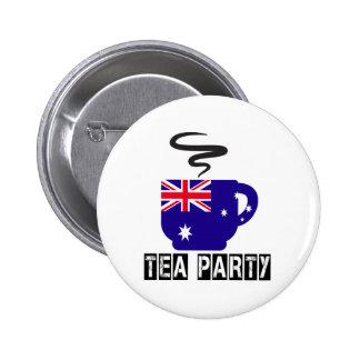 Australia Flag Designs 6 Cm Round Badge
