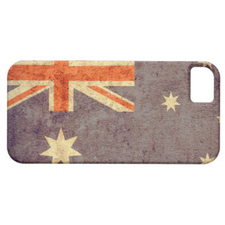 Australia Flag - Grunge Barely There iPhone 5 Case