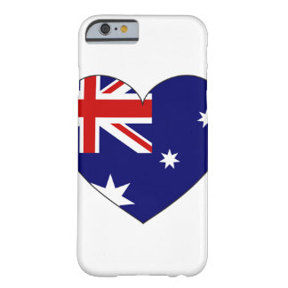 Australia Flag Heart Barely There iPhone 6 Case