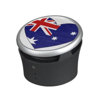 Australia Flag Heart Speaker