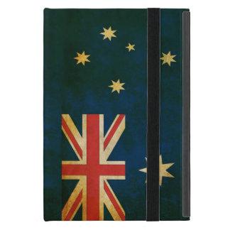 Australia Flag in Grunge iPad Mini Cover