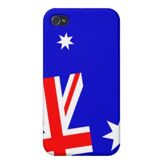 Australia flag iphone4 case iPhone 4 cases