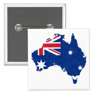 Australia Flag Map Buttons