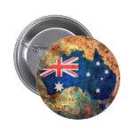 Australia Flag Map Pins