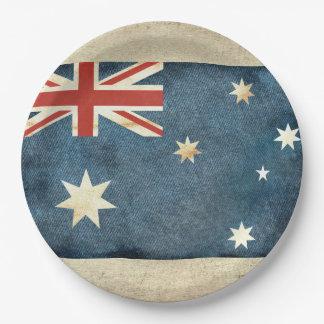 Australia Flag Paper Plates