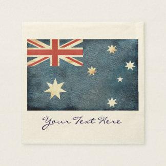 Australia Flag Party Napkins Disposable Napkin