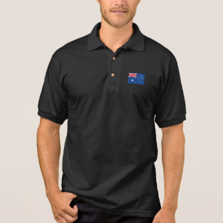 Australia Flag Polo Shirt