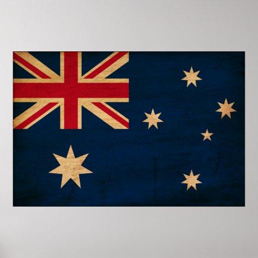 Australia Flag Poster