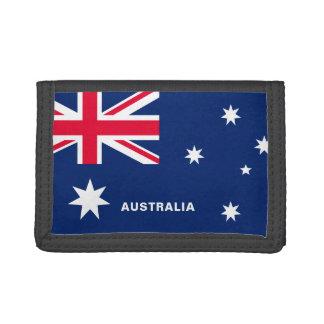 Australia Flag TriFold Nylon Wallet