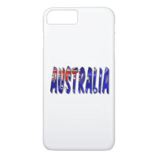 Australia Flag Word iPhone 7 Plus Case