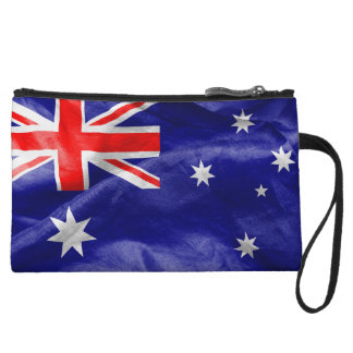 Australia Flag Wristlet Clutches
