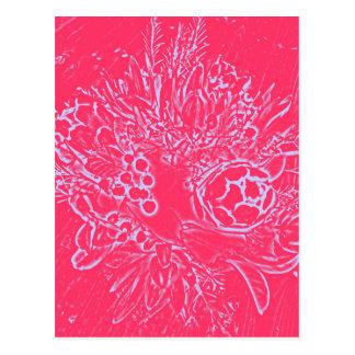 Australia Flower Postcard