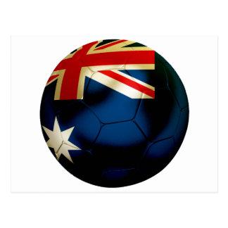 Australia Football Postcard