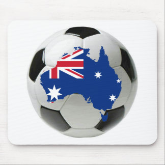Australia football soccer mouse pad