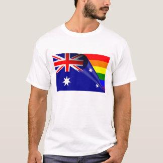 Australia Gay Pride Rainbow Flag T-Shirt