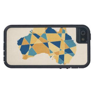 Australia Geometric Retro Map Case For The iPhone 5