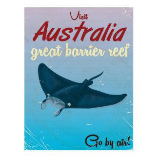 Australia Great barrier reef Postcard