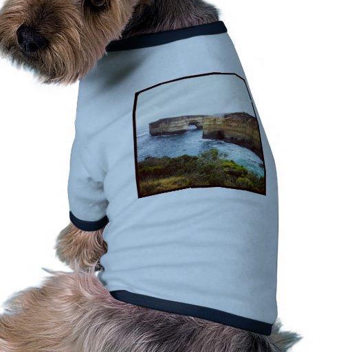 Australia Great Ocean Road Dog T Shirt