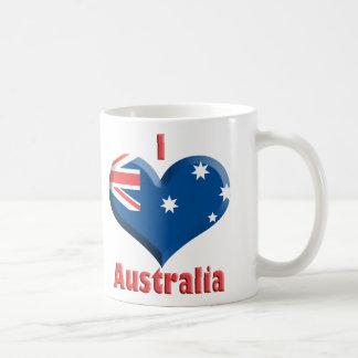 Australia Heart Mug
