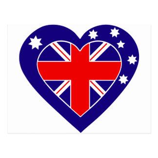australia-heart postcard