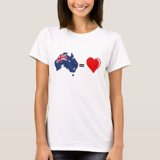 australia heart T-Shirt