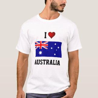 AUSTRALIA: I LOVE AUSTRALIA T-Shirt