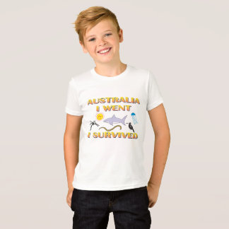 Australia, I went, I survived T-Shirt