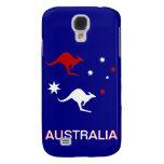Australia Kangaroo and Southern Cross design Galaxy S4 Covers