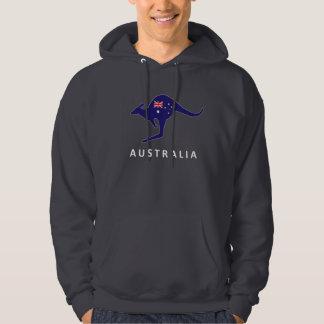 AUSTRALIA KANGAROO FLAG HOODIE