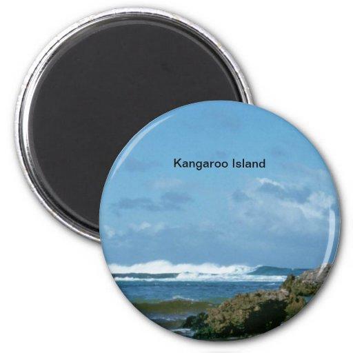 Australia: Kangaroo Island Refrigerator Magnet