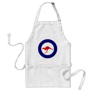 Australia kangaroo military aviation roundel apron