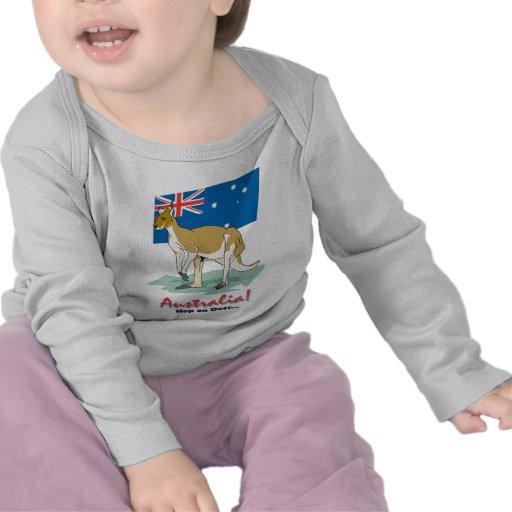 Australia Kangaroo Tshirts