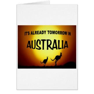 AUSTRALIA KANGAROOS.jpg Greeting Card