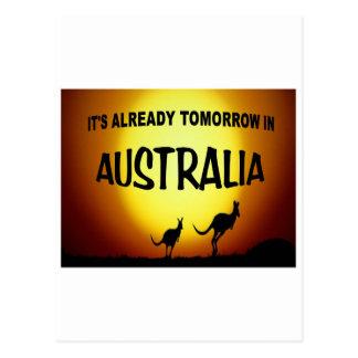 AUSTRALIA KANGAROOS.jpg Postcard