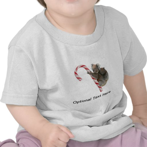 Australia Koala Bears and Candy Cane T Shirts