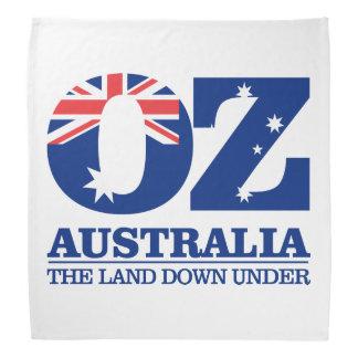 "Australia ""Land of OZ"" Bandana"