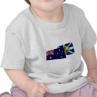 Australia & Lord Howe Island Waving Flags Shirt