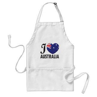 Australia Love Standard Apron