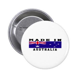Australia Made In Designs 6 Cm Round Badge
