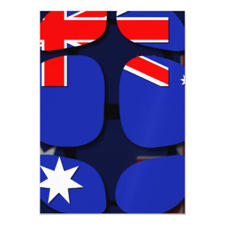 Australia Magnetic Invitations