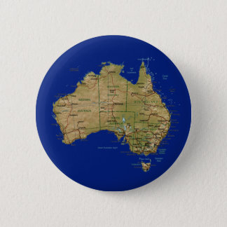 Australia Map Button