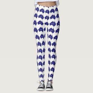2ce7747140 Women's Australia Day Leggings & Tights | Zazzle AU
