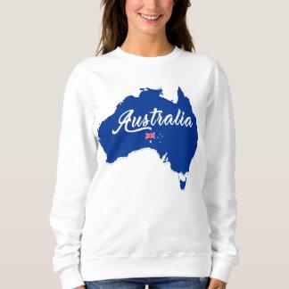 Australia Map Sweatshirt